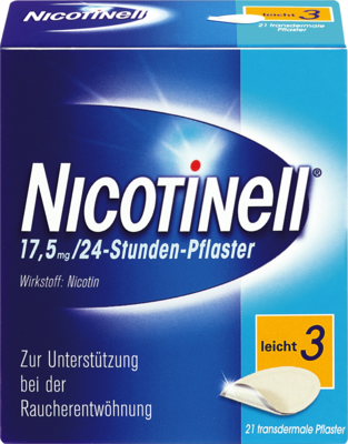 Nicotinell 7mg/24 Stunden PZN 00110065