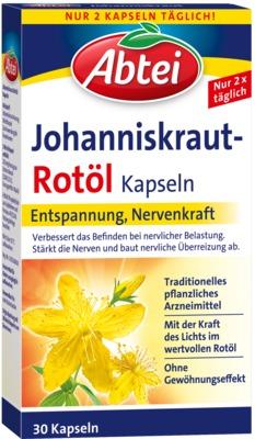 Abtei Johanniskraut-Rotöl Kapseln