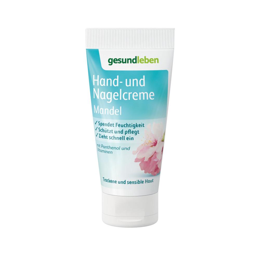 GESUND LEBEN Hand- und Nagelcreme Mandel mini