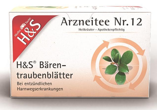 H&S Bärentraubenblätter