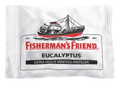 FISHERMANS FRIEND Eucalyptus mit Zucker Pastillen