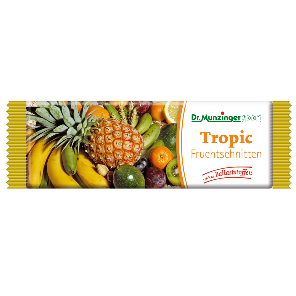 DR. MUNZINGER Fruchtschnitte Tropic