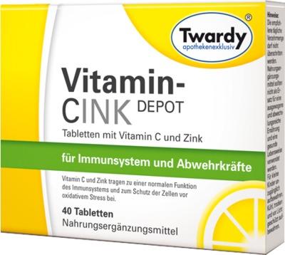 VITAMIN CINK Depot Tabletten