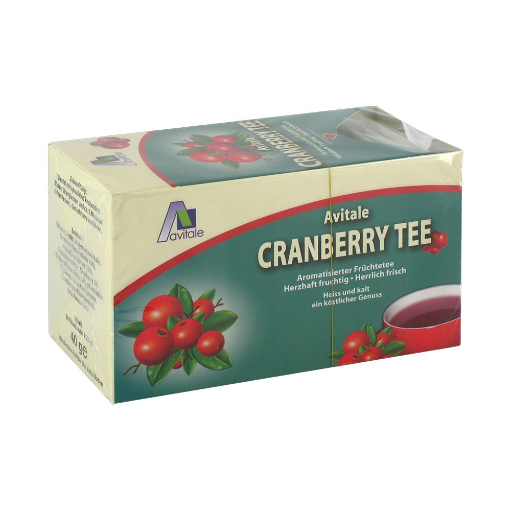 CRANBERRY TEE Filterbeutel