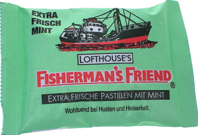 FISHERMANS FRIEND mint Pastillen