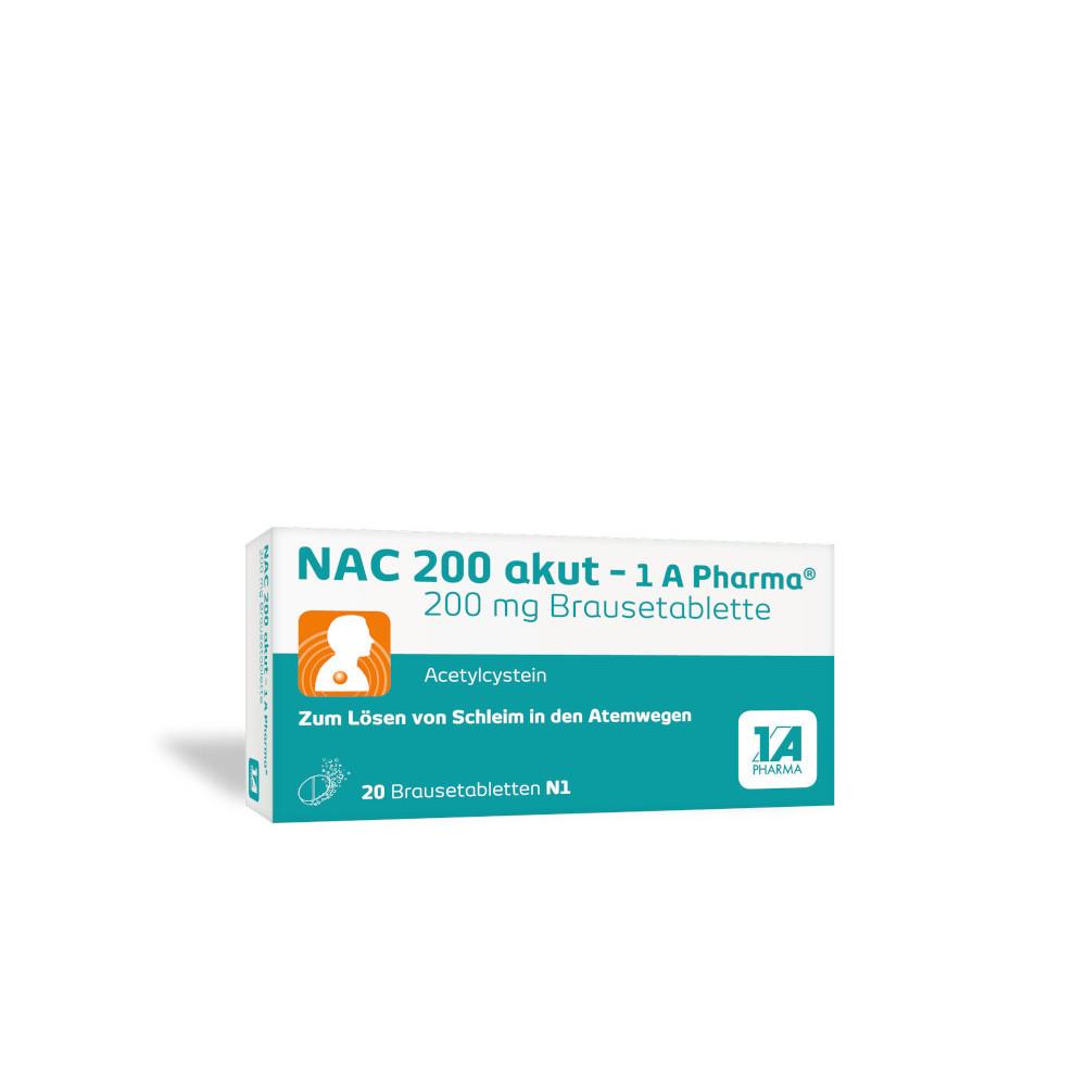 NAC 200 akut - 1A Pharma