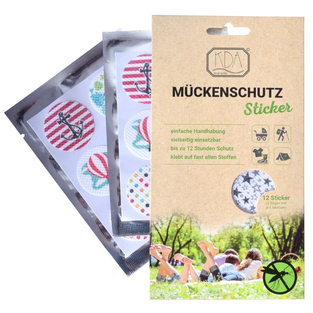 Mückenschutz Sticker Kda