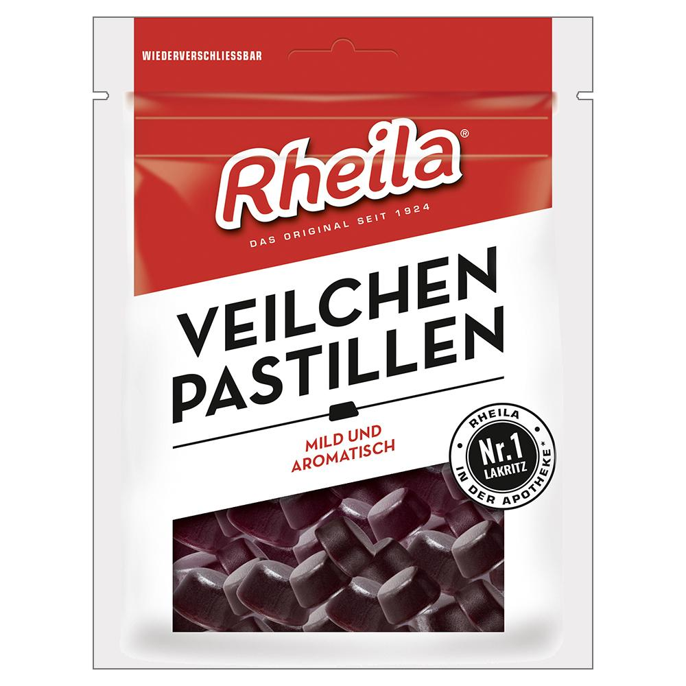 RHEILA Veilchen Pastillen mit Zucker