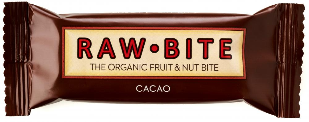 Raw Bite Bio Riegel Cacao