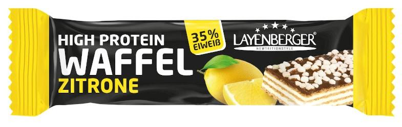 LAYENBERGER High Protein Waffel Zitrone