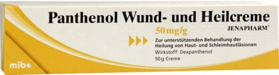 Panthenol Wund- und Heilcreme JENAPHARM 50mg/g
