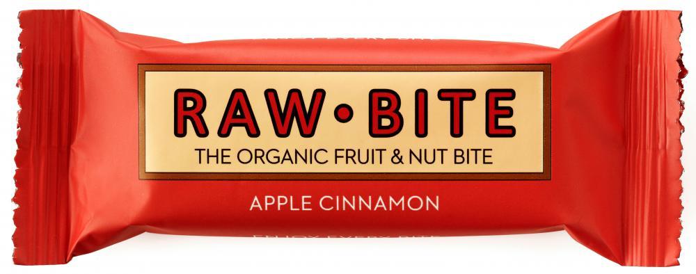 Raw Bite Bio Riegel Apple Cinnamon