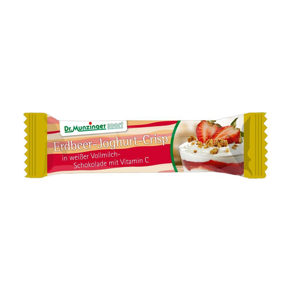 DR.MUNZINGER Riegel Erdbeer-Joghurt schokoliert