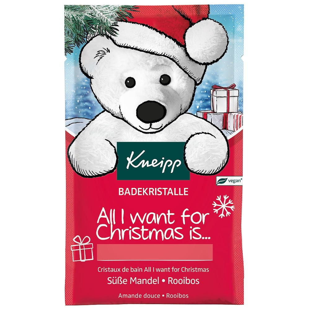 Kneipp BADEKRISTALLE  All I want For Christmas is....