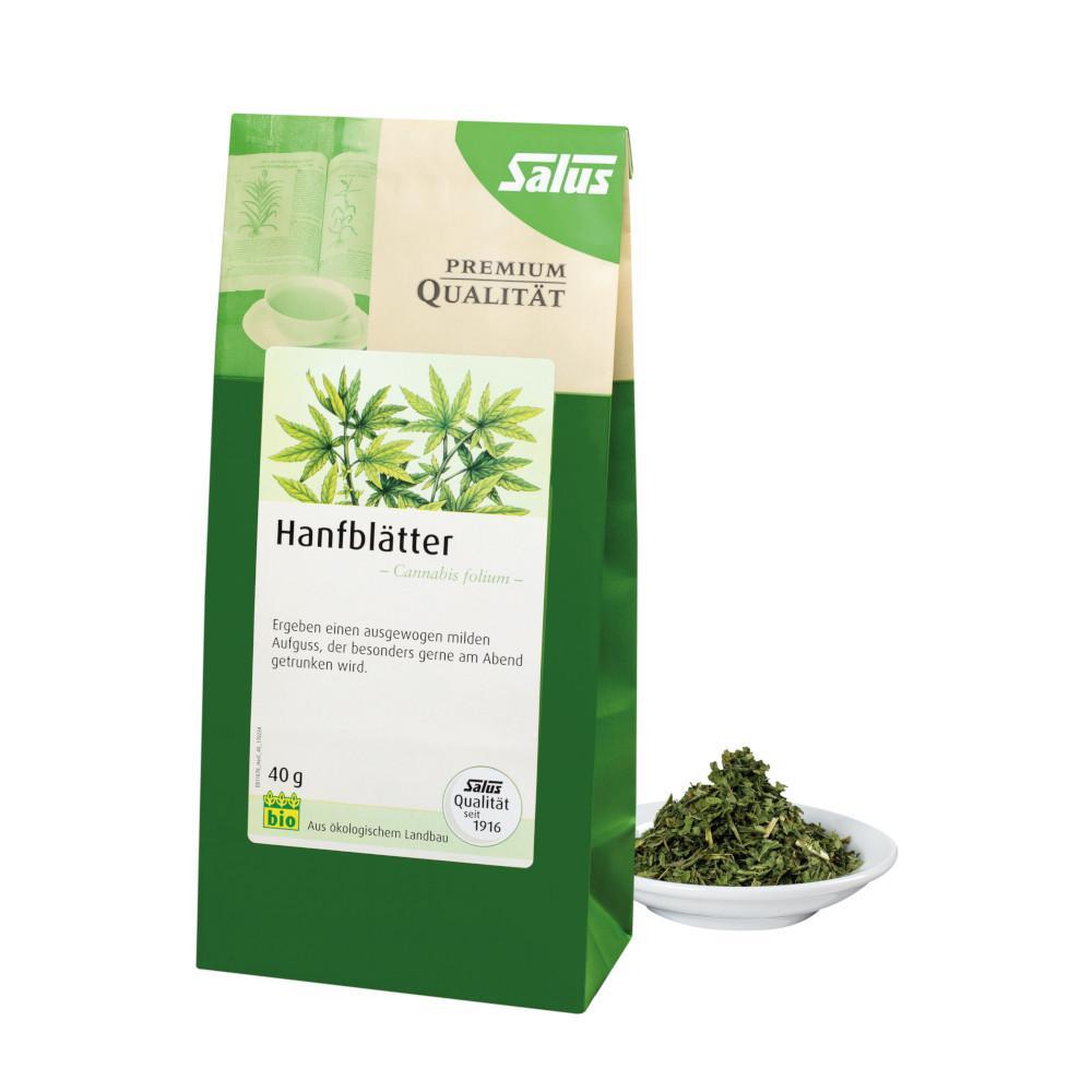 Hanfblätter Bio Cannabis Folium Salus