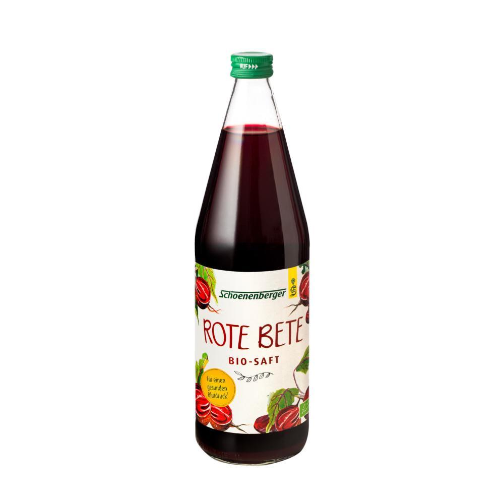 ROTE BETE Saft Bio Schoenenberger