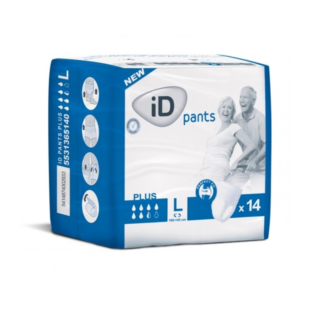 ID Pants Cotton Feel plus Größe L