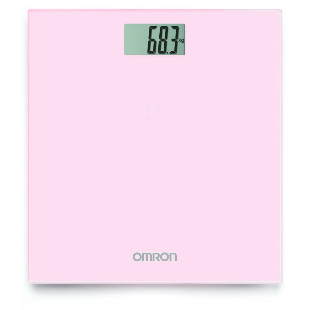 OMRON HN-289 digitale Personenwaage pink