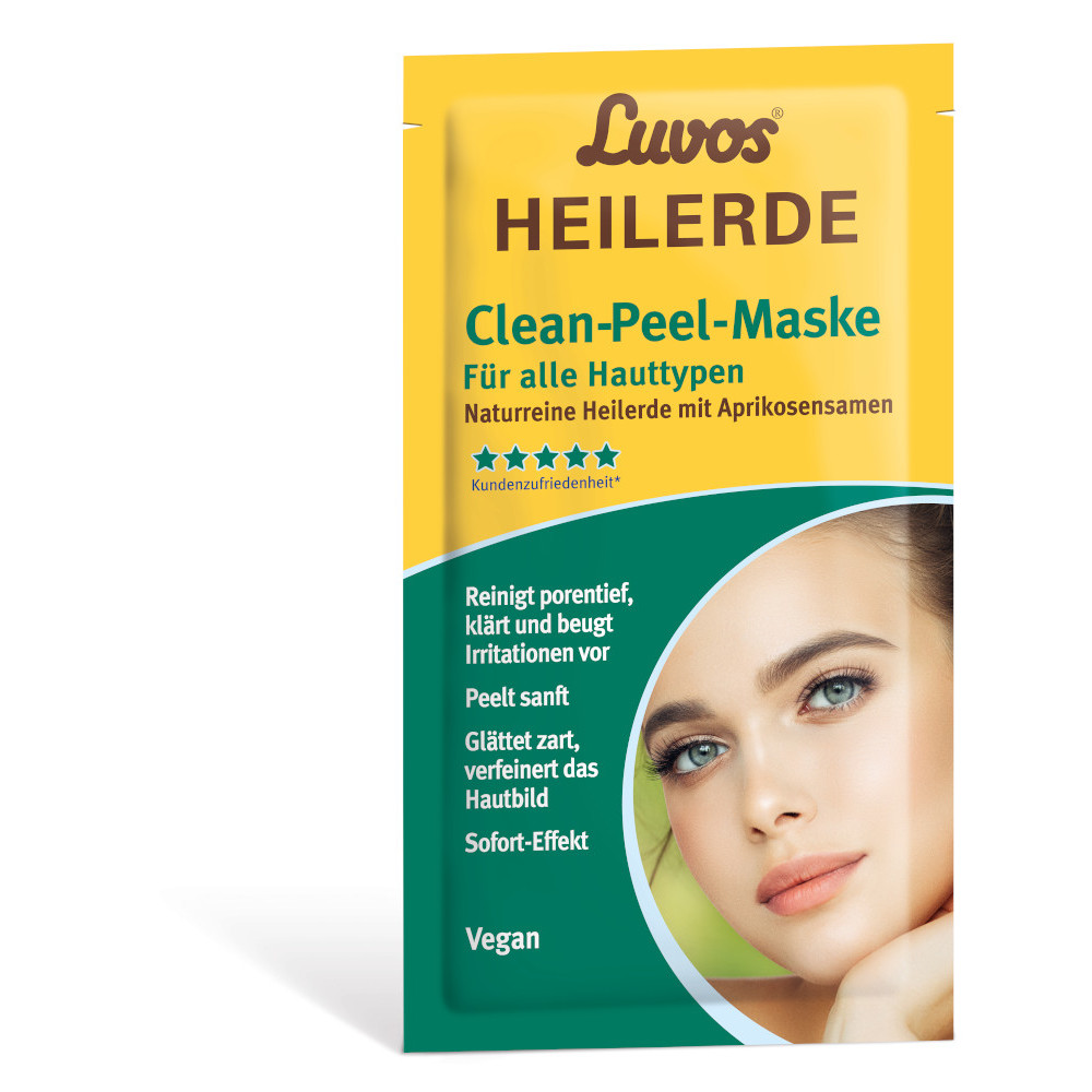 Luvos HEILERDE Clean-Peel-Maske