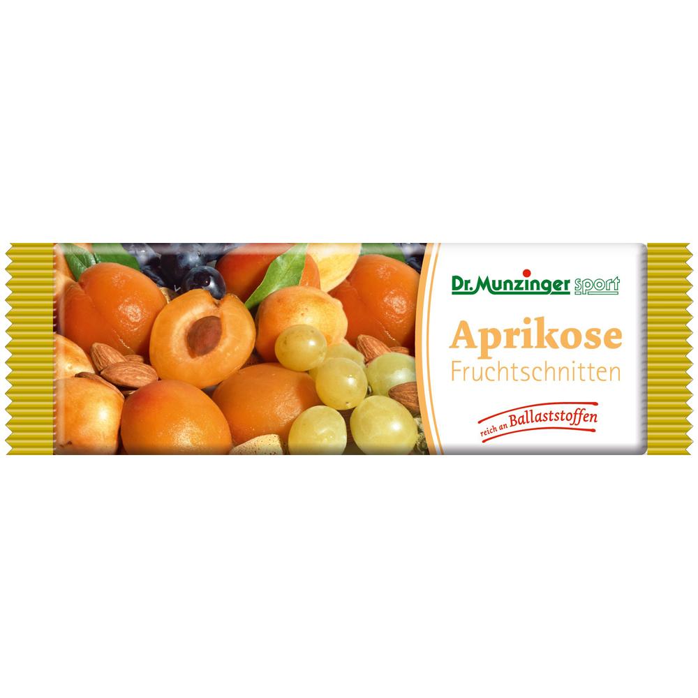 DR.MUNZINGER Fruchtschnitte Aprikose