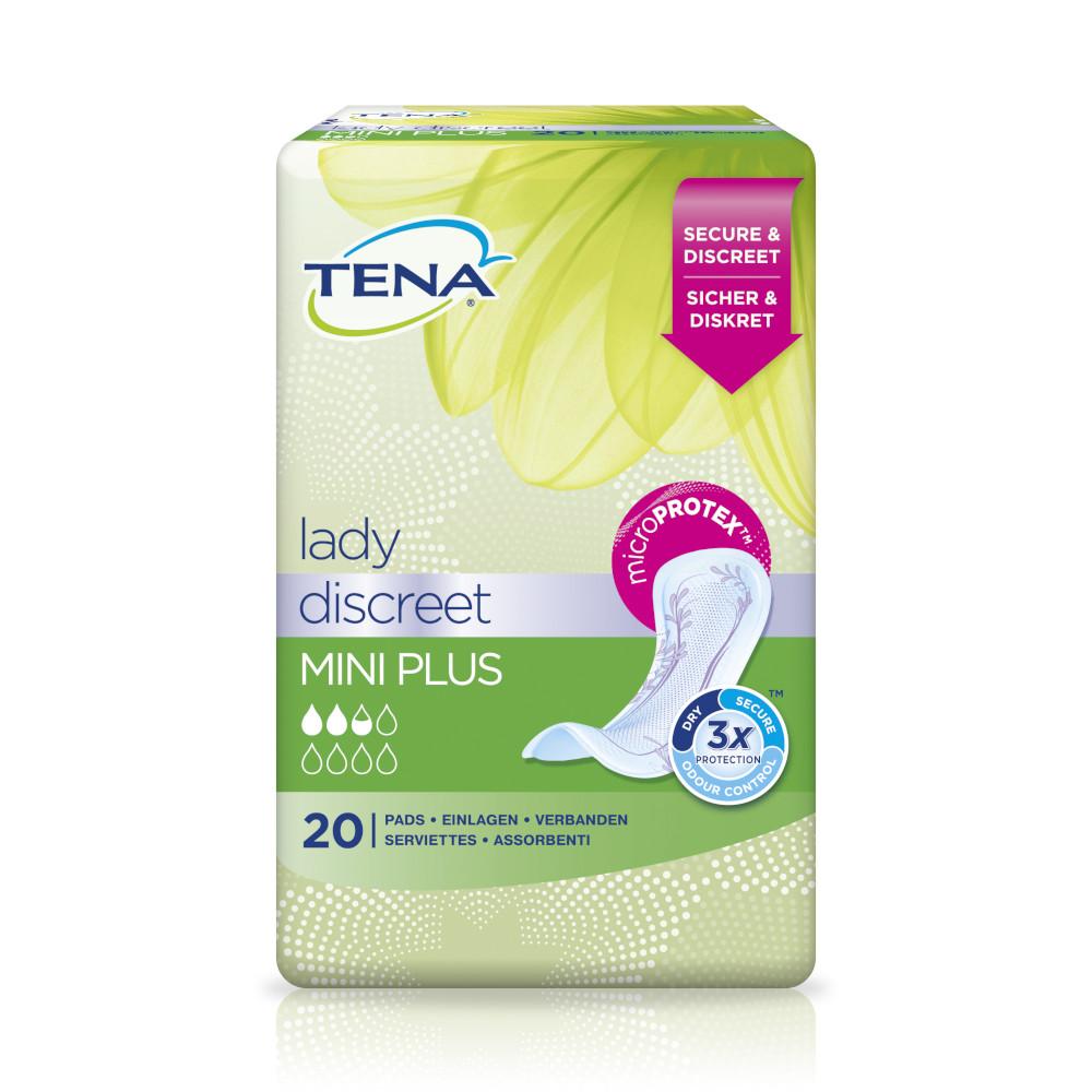 TENA LADY Discreet Einlagen mini plus