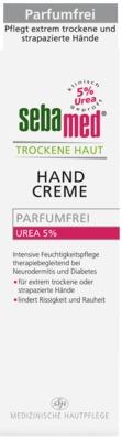 Sebamed Trockene Haut Parfumfrei Handcreme Urea 5% – 75 ml