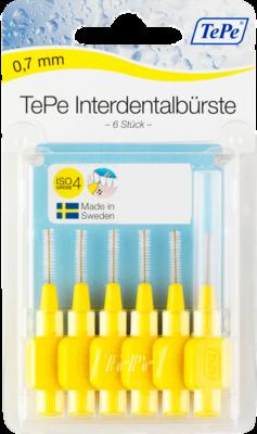TEPE Interdentalbürste 0,7mm gelb