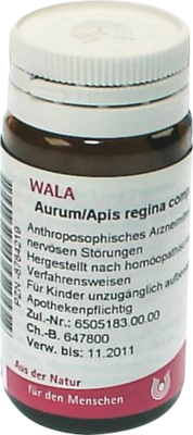 AURUM/APIS regina comp.Globuli