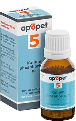 APOPET Schüßler-Salz Nr.5 Kalium phos.D 6 vet.