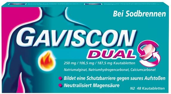 GAVISCON Dual Kautabletten