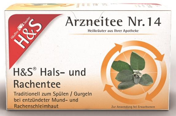 H&S Hals- und Rachentee Filterbeutel