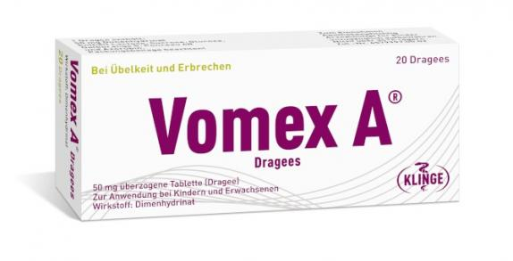 Vomex A Dragees