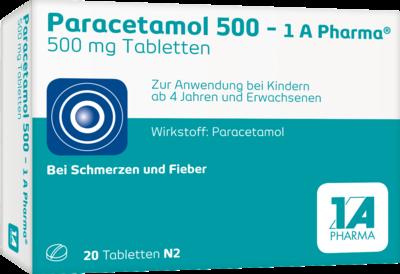 Paracetamol 500-1A Pharma