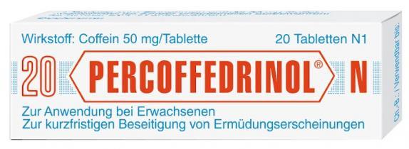 Percoffedrinol N 50mg