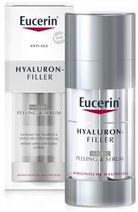 Eucerin ANTI-AGE HYALURONFILLER NACHT PEELING& SERUM