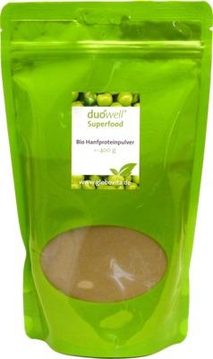 DUOWELL Superfood Bio Hanfproteinpulver