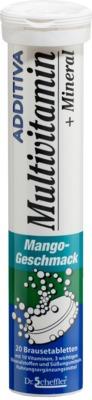 ADDITIVA Multivitamin+Mineral Mango Brausetabletten