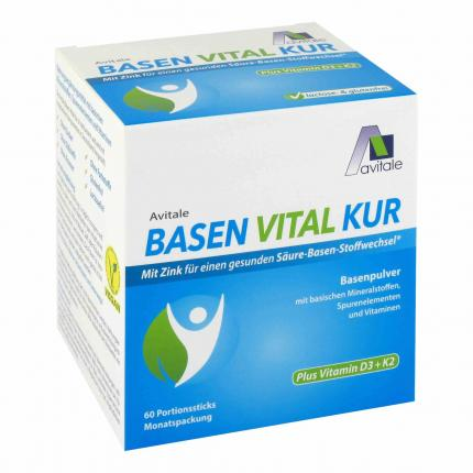 BASEN VITAL Kur+Vitamin D3+K2 Pulver