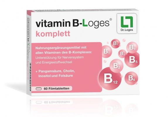 vitamin B-Loges komplett Filmtabletten