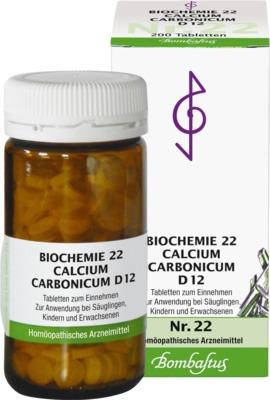 BIOCHEMIE 22 Calcium carbonicum D 12 Tabletten
