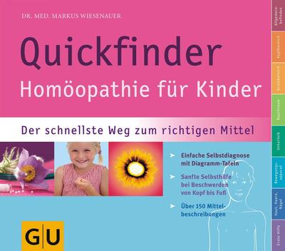 GU Quickfinder Homöopathie für Kinder