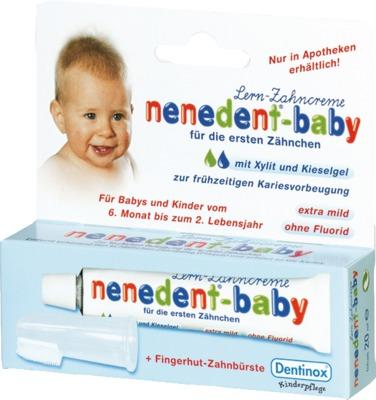 NENEDENT Baby Zahnpflege Set