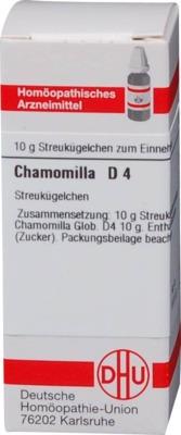 CHAMOMILLA D 4 Globuli