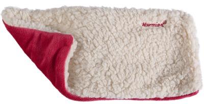 WARMIES Hot Pak Sherpa beige/rot