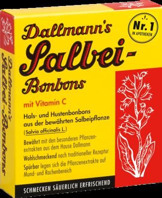 Dallmann´s Salbei-Bonbons mit Vitamin C
