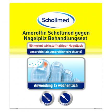 Schollmed Amorolfin gegen Nagelpilz Behandlungsset