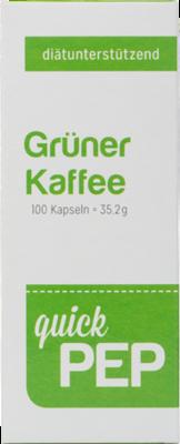 QUICKPEP grüner Kaffee Kapseln
