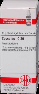COCCULUS C 30 Globuli