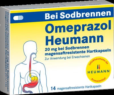 Omeprazol Heumann 20mg bei Sodbrennen