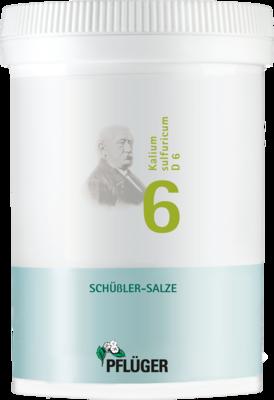 BIOCHEMIE Pflüger 6 Kalium sulfuricum D 6 Tabl.